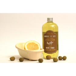 Mousse de Bain Citron et Olives