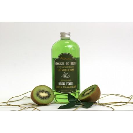 Mousse de Bain Thé vert et Kiwi