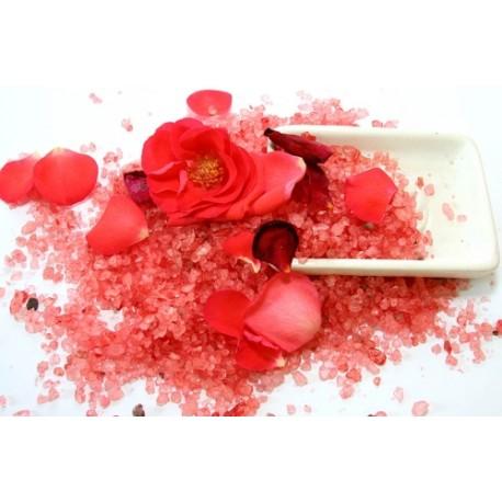 Sel de bain à La Rose