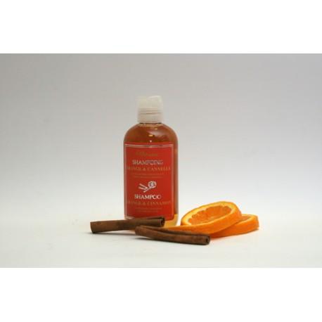 Shampooing Orange et Cannèle